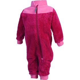 Color Kids Karim Pile Suit Kinderen, rasberry